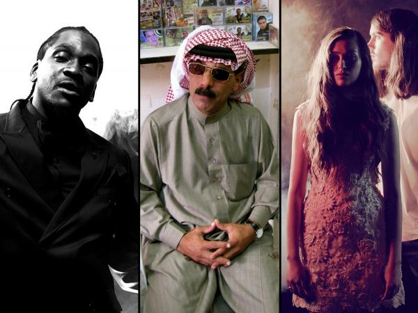 Meet our lineup for the next NPR Music Presents webcast: Pusha T, Omar Souleyman and Cults.