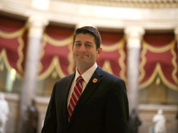 Chairman of the House Budget Committee Paul Ryan at the U.S. Capitol on Thursday. Ryan has outlined the framework of a possible deal on the federal shutdown and the debt ceiling.