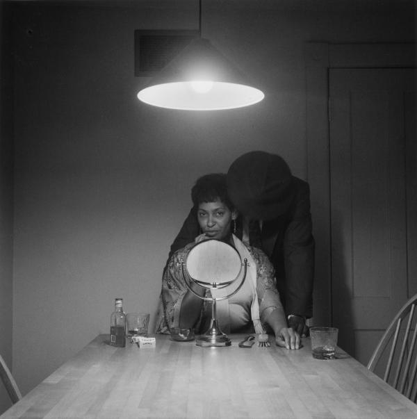 <em>Untitled (Man in Mirror)</em> from <em>The Kitchen Table Series,</em> 1990