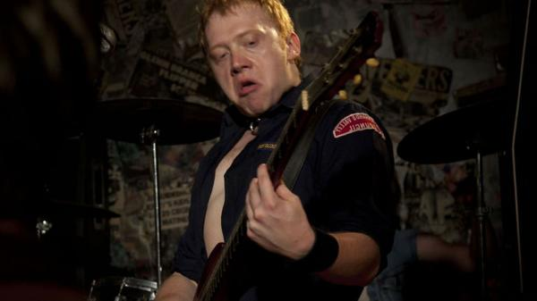 Rupert Grint — who starred with Rickman in the Harry Potter films — plays Cheetah Chrome, guitarist for the real-life punk band The Dead Boys<em>. </em><em></em>