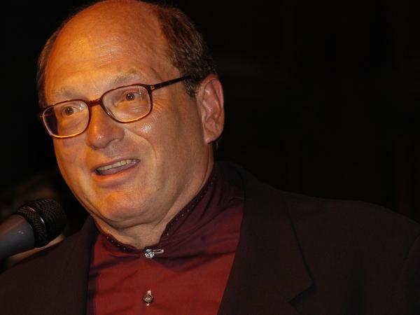 Pulitzer Prize-winning author Oscar Hijuelos attends the Hispanic Organization of Latin Actors) Awards in 2003 in New York City.