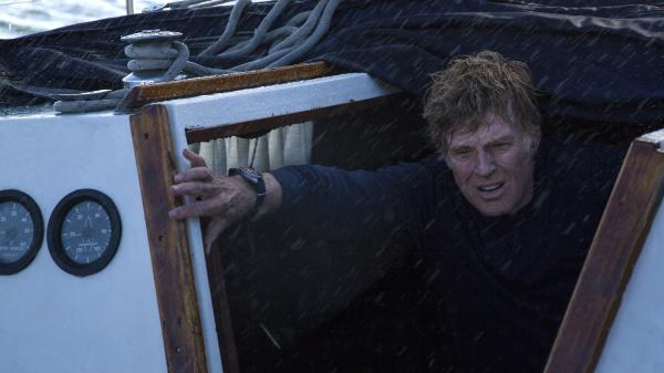 Robert Redford plays the sole character in <em>All Is Lost</em>; a man who is stranded at sea, on a badly damaged boat — and completely on his own.