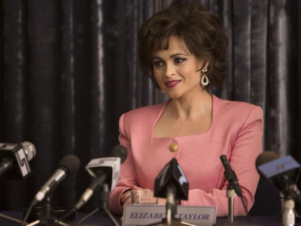 Helena Bonham Carter plays Elizabeth Taylor in <em>Burton and Taylor</em>, a BBC America movie that focuses on the famous couple's stint acting together on Broadway in 1983.