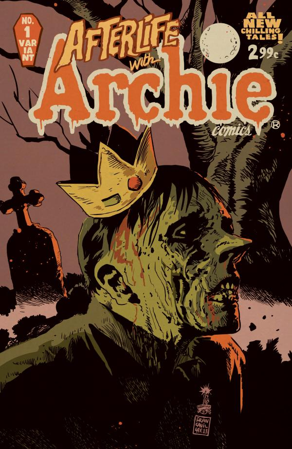 Cover of <em>Afterlife with Archie #1</em>.