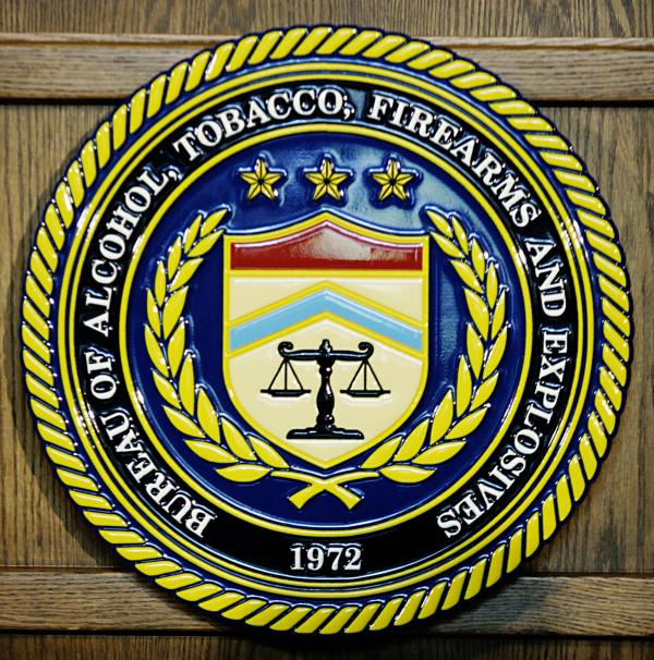 "Special Agent John Dodson will publish a book about the ATF's ""Operation Fast and Furious."" Above, the seal of the U.S. Bureau of Alcohol, Tobacco, Firearms and Explosives."