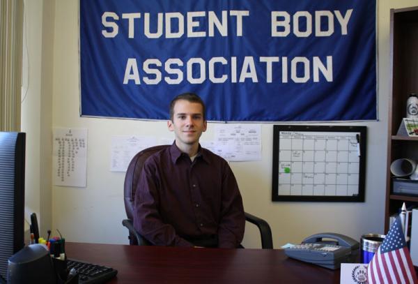 Gonzaga student body president Johnny Draxler, 21, says Tom Foley is an inspiration to him.