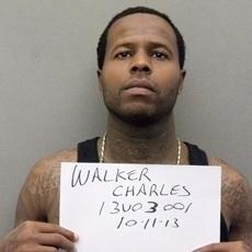 Convicted killer Charles Walker in a photograph taken on Oct. 11 by the Orange County, Fla., Sheriff's Office — after he escaped from prison. Walker went to the Orange County Jail to register as a felon.