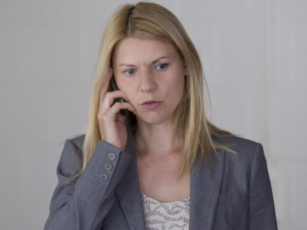 Claire Danes as Carrie Mathison in <em>Homeland.</em>