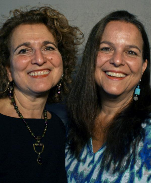 Priya Morganstern (left), 57, and Bhavani Jaroff, 56.