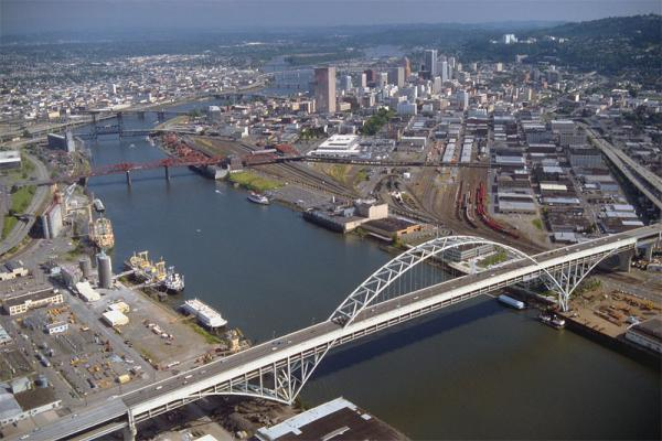 File photo of Portland, Ore.