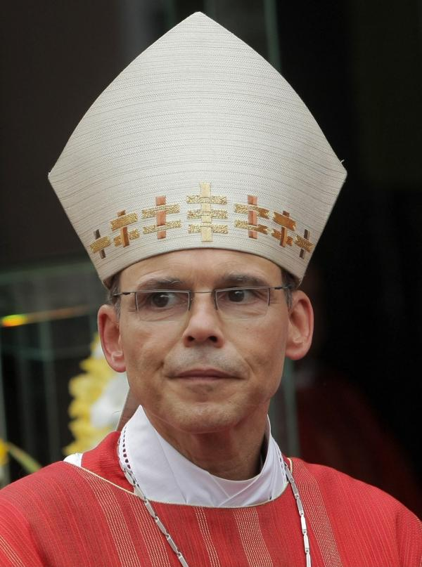 Bishop of Limburg Franz-Peter Tebartz-van Elst.