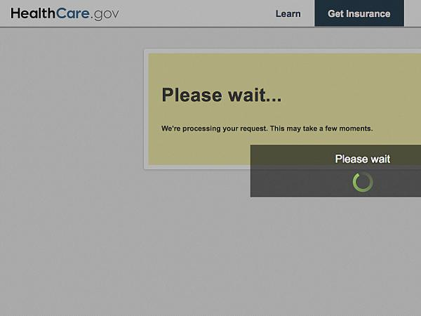 Technical problems have plagued the Obama administration's HealthCare.gov website.