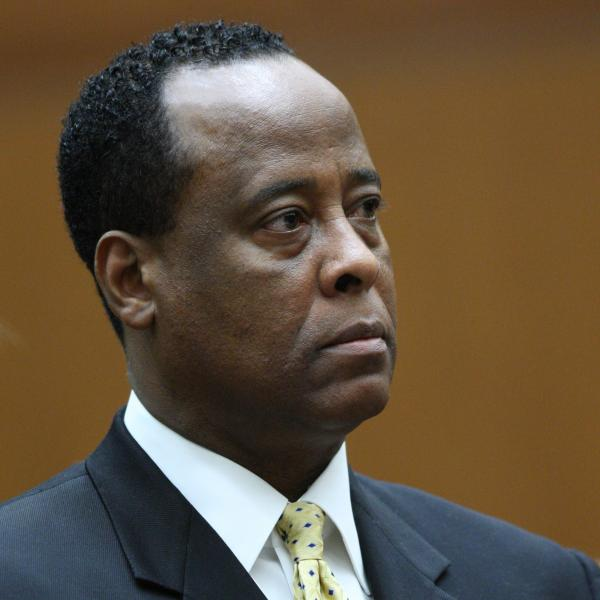 Conrad Murray at a court hearing in 2010.