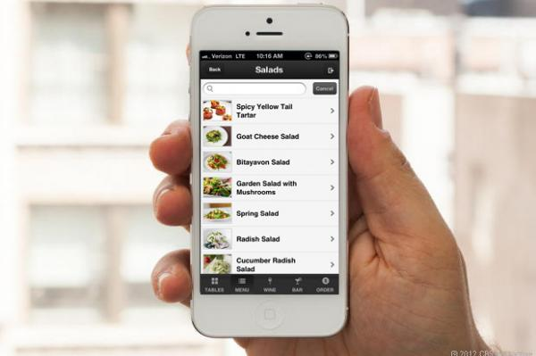 The Aptito app has intel on a restaurant's dishes and drinks, but diners can also use it to request a waiter's attention, ask to speak with the chef and leave reviews for the management.
