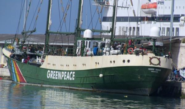 The Greenpeace vessel, Rainbow Warrior, will arrive in Vancouver, Wash. for public tours on Nov. 2 and 3.