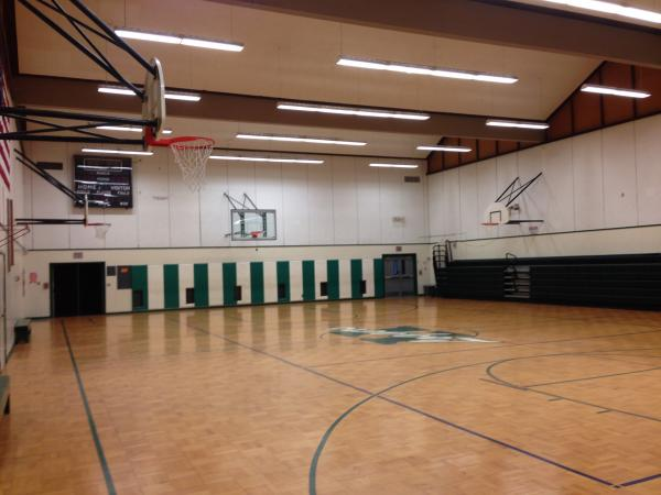 One of two gymnasiums at Hamlin.
