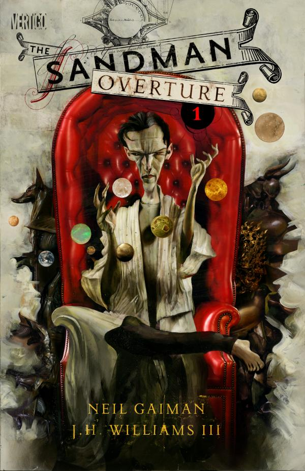 Dave McKean's variant cover for <em>Sandman: Overture 1 </em>presents a new vision of the Sandman.