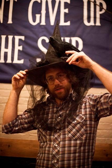 Always bewitching <em>Ask Me Another</em> House Musician Jonathan Coulton.