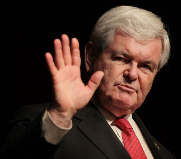 Former House Speaker Newt Gingrich earlier this month in New York City.
