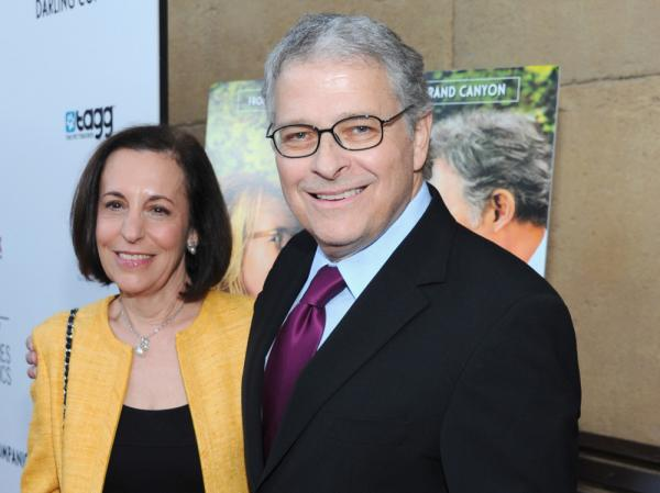 Meg Kasdan and Lawrence Kasdan attend the Los Angeles premiere of <em>Darling Companion</em> at the Egyptian Theatre on April 17.