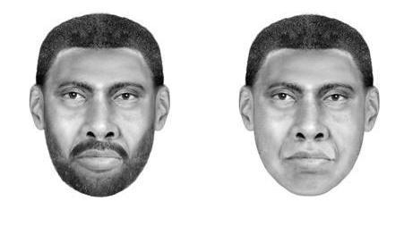 New sketches of the suspect in Morgan Harrington's murder and a sexual assault.