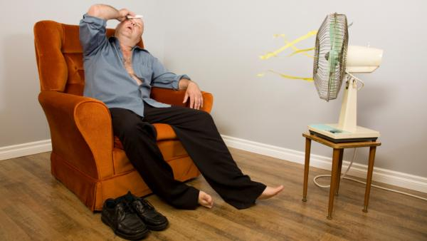Researchers say that when temperatures rise above 95 degrees, a fan might make you even hotter, and maybe even sick.
