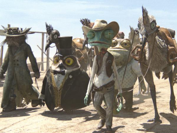 In <em>Rango</em>, the town of Dirt goes through a drought caused by greedy corporations and politicians, not by nature.