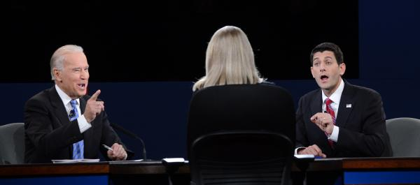 Vice President Biden and Republican Paul Ryan debate Thursday, with Martha Raddatz moderating.