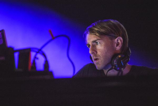 Richie Hawtin performs at Moogfest in Asheville, N.C. on Friday, October 26. Hawtin's  CNTRL: Beyond EDM tour with Loco Dice is scheduled to launch this week.