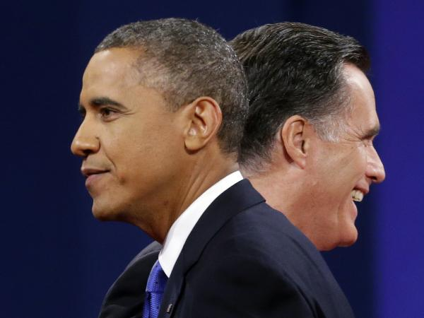A new NPR poll shows the outcome of the Nov. 6 election is too close to call. Mitt Romney leads President Obama nationwide; Obama leads Romney in key battleground states. Both leads are within the poll'€™s margin of error.