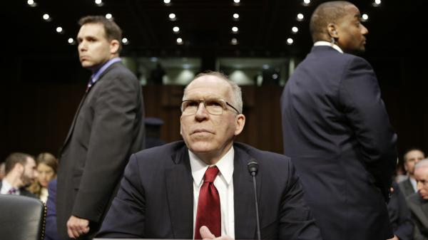 John Brennan, President Obama's nominee to head the CIA, prepares to testify at his confirmation hearing before the Senate Intelligence Committee on Thursday.