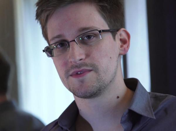 "In a video interview with <em>The</em> Guardian, Edward Snowden says he exposed NSA monitoring because ""the public needs to decide whether these programs and policies are right or wrong."""