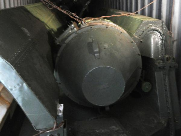 View of what seems to be weapon parts aboard a North Korean-flagged ship on Tuesday.