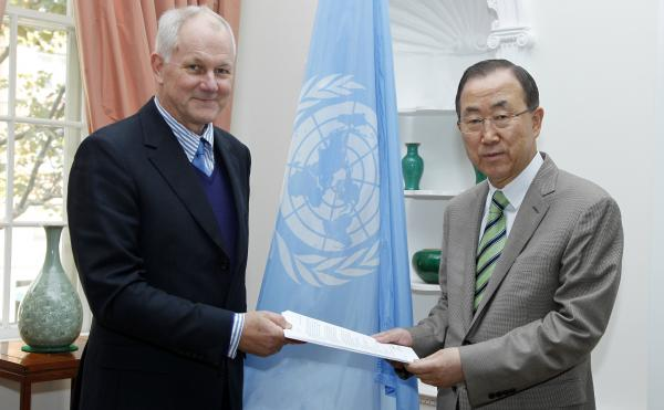 "U.N. Secretary-General Ban Ki-moon, who received the report on Syria's chemical weapons over the weekend from professor Ake Sellstrom, expressed his ""profound shock and regret"" at its findings."