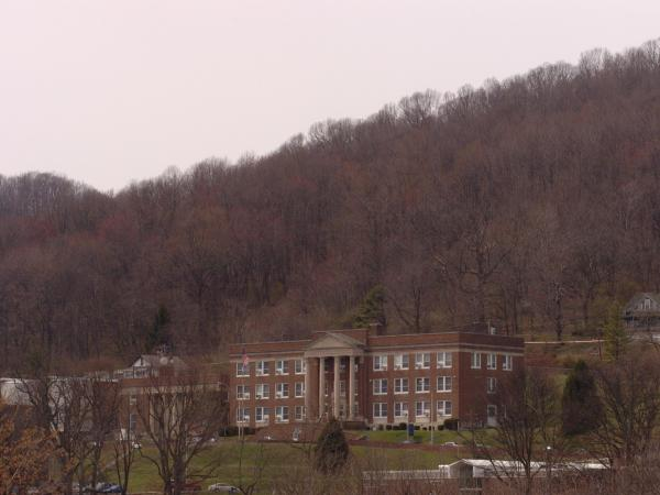 Conley Hall is the home of the library and administrative offices of Bluefield State College.