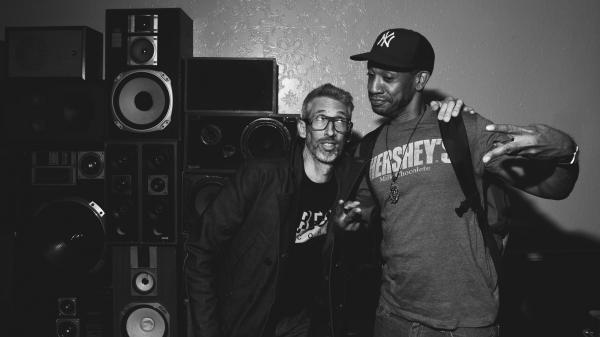 Stretch Armstrong (left) and Prince Paul at the Ace Hotel Sept. 25.