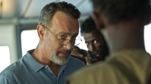 "Tom Hanks stars in <em>Captain Phillips, </em>a film that's recently been subject to a ""whisper campaign"" of pre-Oscars criticism."