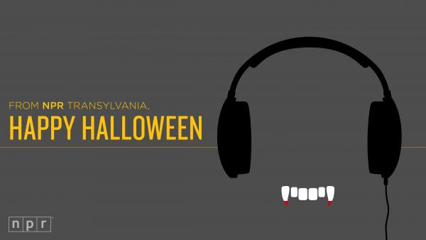 From NPR Transylvania, Happy Halloween