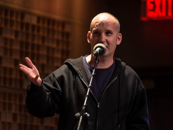 Ian MacKaye: Punk rock icon, dental missionary. He joined <em>Ask Me Another</em> at NPR Headquarters in Washington, D.C.