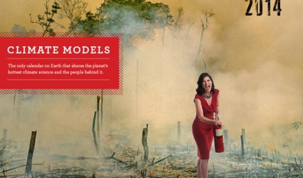 Some clever and well-dressed scientists are using a pun to spur some fun educational outreach. The Climate Models Calendar features climate scientist.
