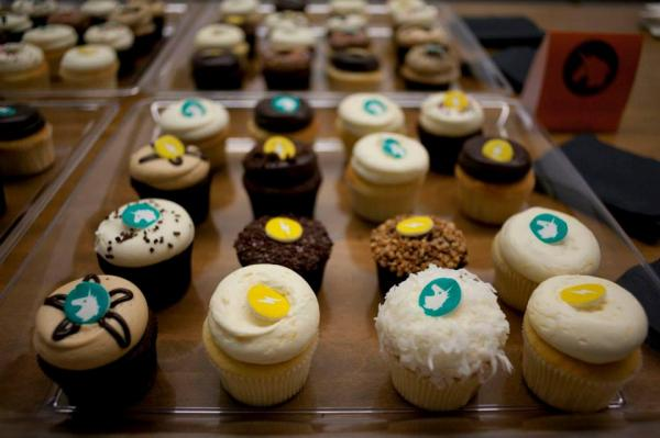 Georgetown Cupcakes with a Generation Listen twist.