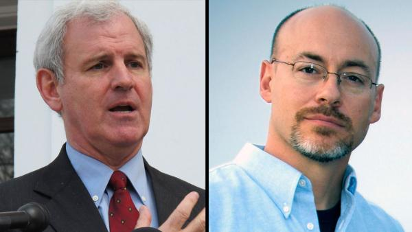 Bradley Byrne (left) and Dean Young are vying for a congressional seat in a special election in Alabama.