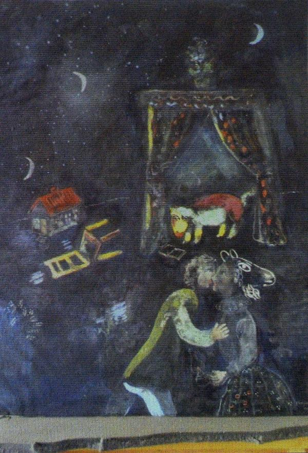 A painting by Marc Chagall.