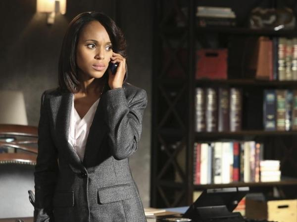 Kerry Washington plays Olivia Pope on Shonda Rhimes' political drama <em>Scandal,</em> one of TV's most talked-about broadcast shows.