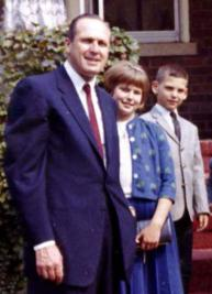 Nancy Fuchs Kreimer in a family photo, circa 1963.