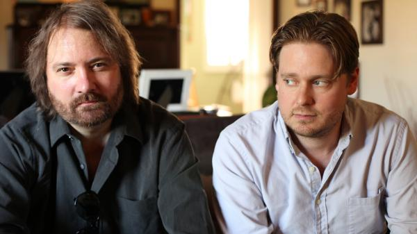 <em>Some Things Never Stay The Same</em> is the new album from Davin Wood (left) and Tim Heidecker, better known as Heidecker & Wood.