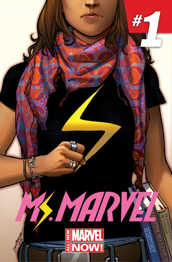 Kamala Khan, a New Jersey teenager who's also Muslim, is the latest superhero to don the Ms. Marvel mantle.