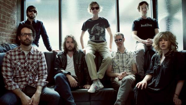 Members of Broken Social Scene.