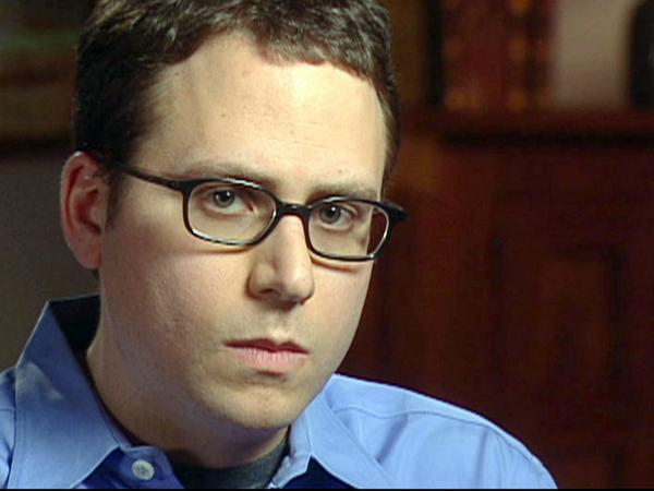 Stephen Glass during a 2003 interview with CBS News' <em>60 Minutes</em>.
