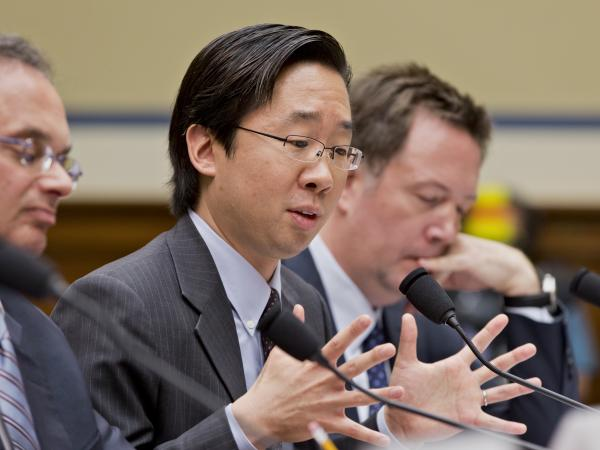 Todd Park, the U.S. chief technology officer, testifies before the House oversight committee about problems implementing the health care program.